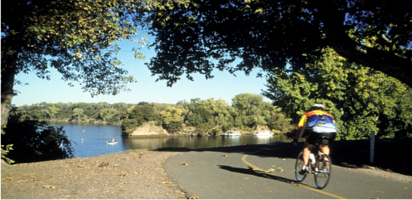 American River Bicycle Trail